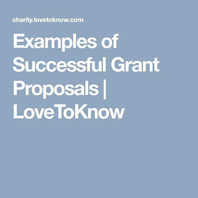 The  Best Grant Proposal Ideas On   Writing A