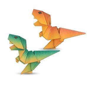 Tyrannosaurus - origami instructions