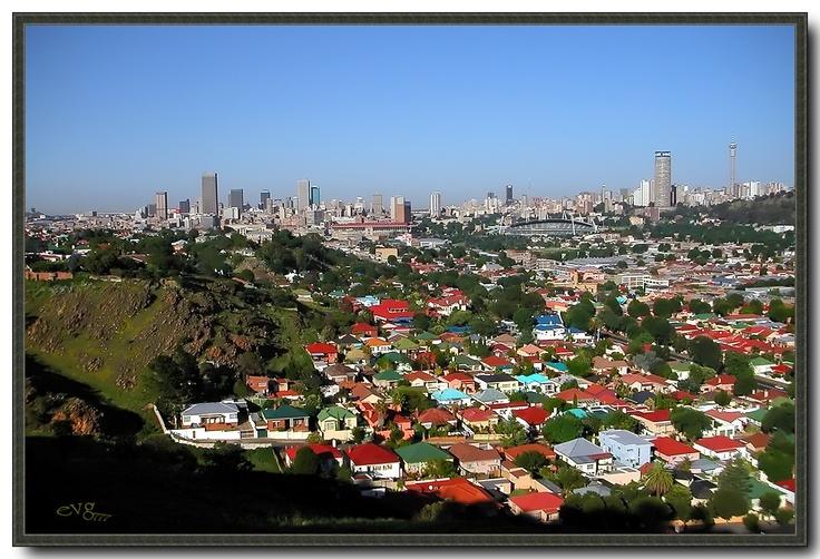 The wonderful city of Johannesburg