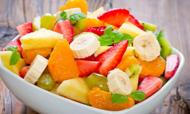 A salada de frutas mais saudável do mundo   – Dessert