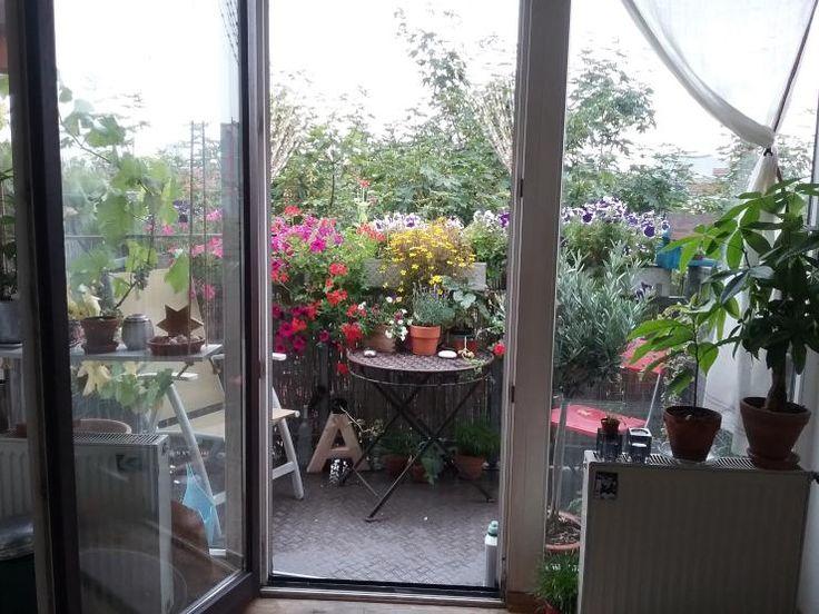 Einfache Dekoration Und Mobel Sommerliche Textilien #19: Wir Lieben Den Sommer! Das Schreit Dieser Wunderbar Dekorierte Balkon!  #sommer #deko