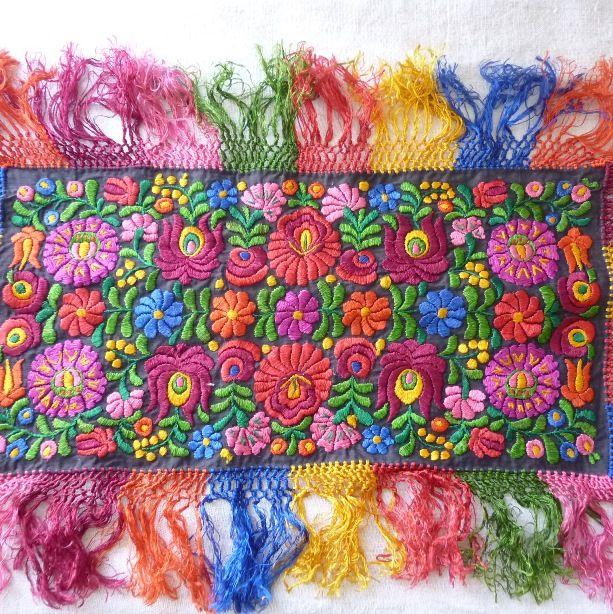 Matyó embroidery - Hungary