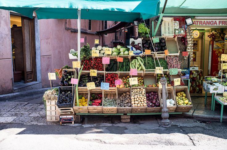 I colori del mercato...
