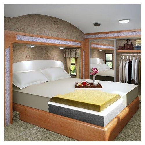 Recessed Bed Home Mattress Foam Mattress Queen Size
