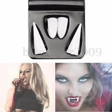 4PCS Vampire Teeth Halloween Decorations Dentures Fangs Bites Costume Party Prop