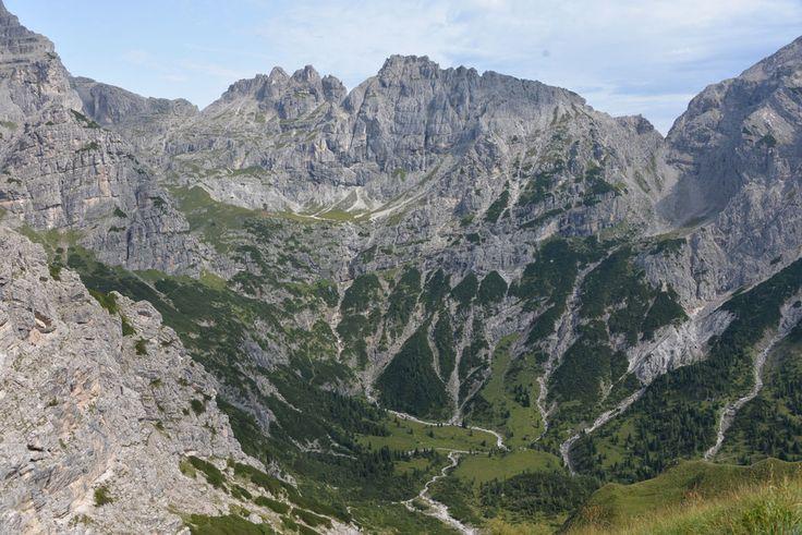 Поход в Доломитовых Альпах, август 2017 - часть 1