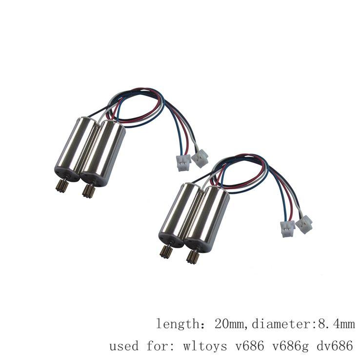 $8.86 (Buy here: https://alitems.com/g/1e8d114494ebda23ff8b16525dc3e8/?i=5&ulp=https%3A%2F%2Fwww.aliexpress.com%2Fitem%2F4pcs-Motors-For-Wltoys-V686-V686g-Dv686-Cw-Ccw-Brush-Engine-Rc-Drone-Spare-Parts-Quadcopter%2F32793722190.html ) 4pcs Motors For Wltoys V686 V686g Dv686 Cw Ccw Brush Engine Rc Drone Spare Parts Quadcopter Motor Accessory Dron Kit Moto for just $8.86
