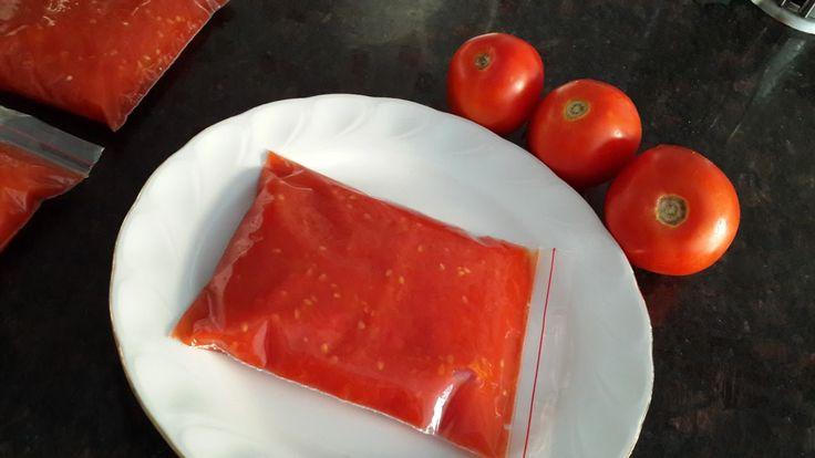 Kışlık hazırlıklar, domates sosu, Menemen domatesi,poşette domates sosu nasıl yapılır,Menemen domatesi nasıl yapılır,kışlık domates nasıl saklanır,
