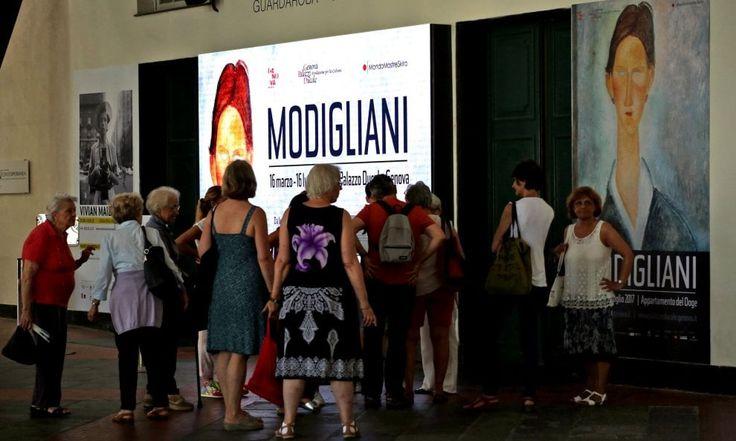 Genova quadri sospetti sequestrati, chiude la mostra di Modigliani