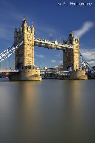 Tower Bridge. The weird moment when I know exactly where the photographer was standing to take this ~ yep weird!!!!   ^^^ This is not my comment Sis ;-)