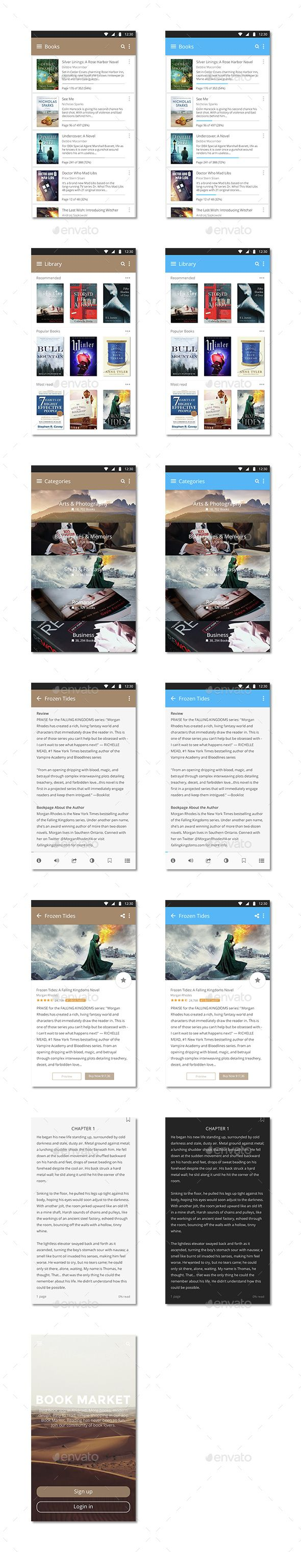 Book Market Android (User Interfaces)