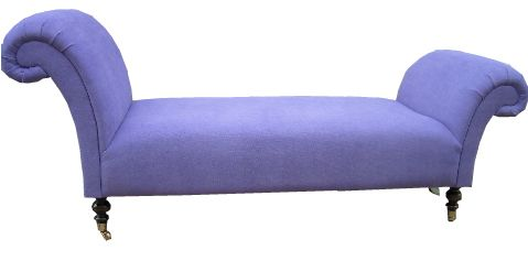 backless double ended chaise longue by sofaclassics