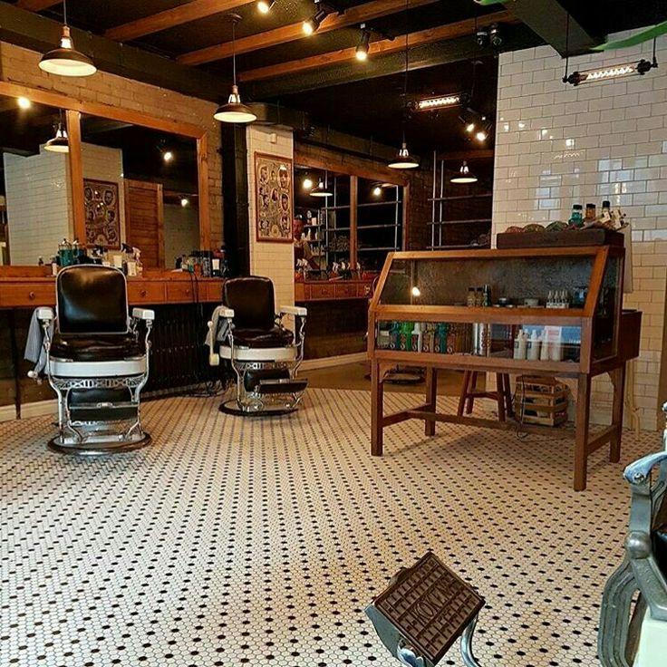 Best 25 barber shop interior ideas on pinterest barber shop barbershop design and barbershop - Barber shop interior ...