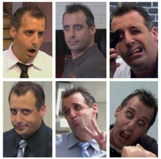 The many faces of Joe!