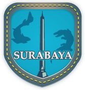 """Surabaya:  """"The city of heroes.  Welcome to the capital city of East Java, show your local identity with Yotomo."""""""