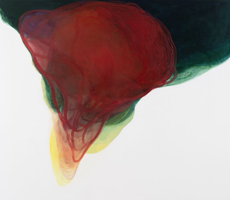 Melek MAZICI  Crescendo, 2015 acrylic on canvas 140x160cm