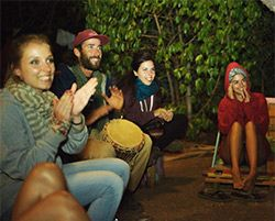 Live music in Wavy Surf camp #livemusic #concert #nightlife #friends