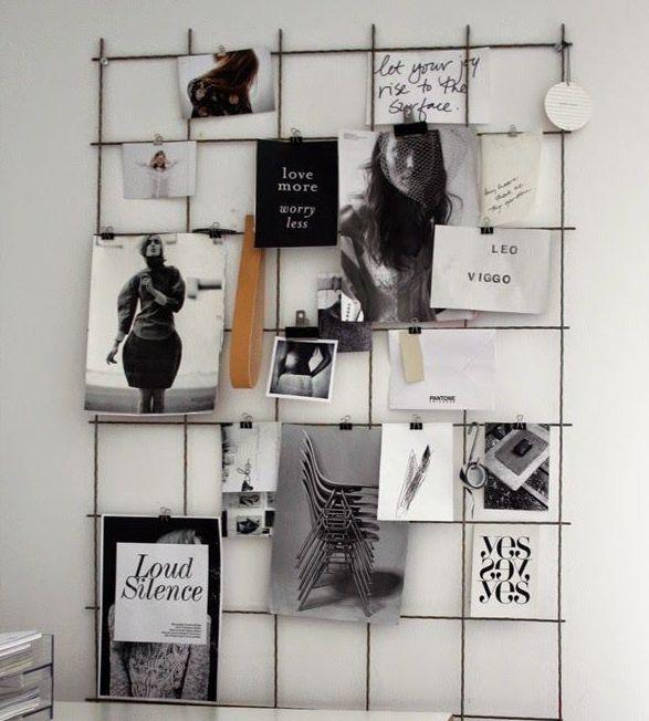 Mood board pinnwand dekoration dekoration pinterest - Gitter pinnwand ...