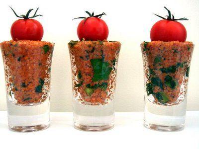 Kisir – török csípős, paradicsomos bulgur saláta