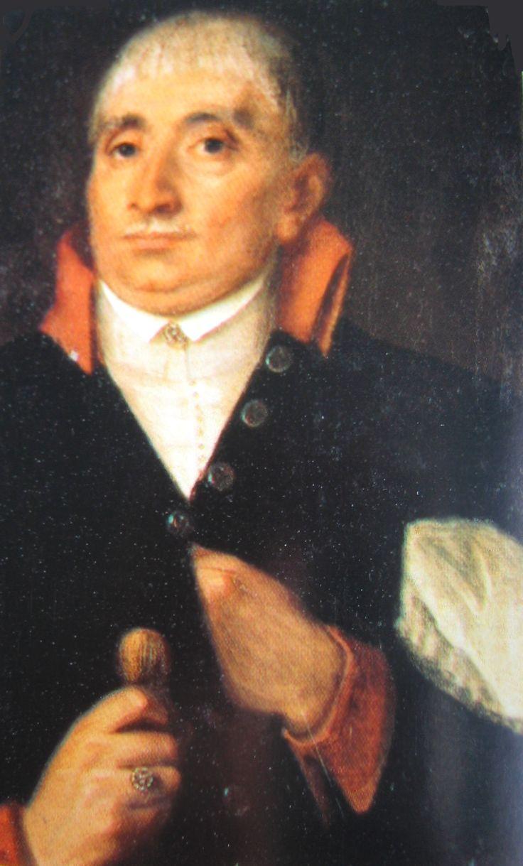 Michał Kochanowski on anonymous painting end of XVIII century