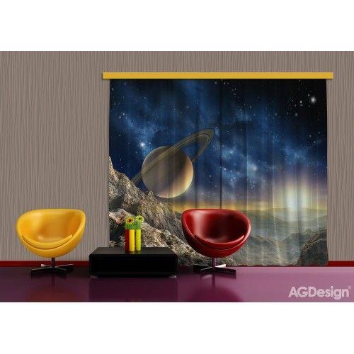 Űr, égbolt, bolygók függöny XXL