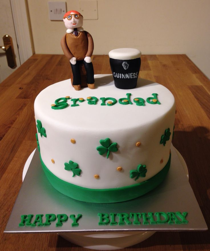 15 best Dads birthday images on Pinterest Birthday cakes Irish