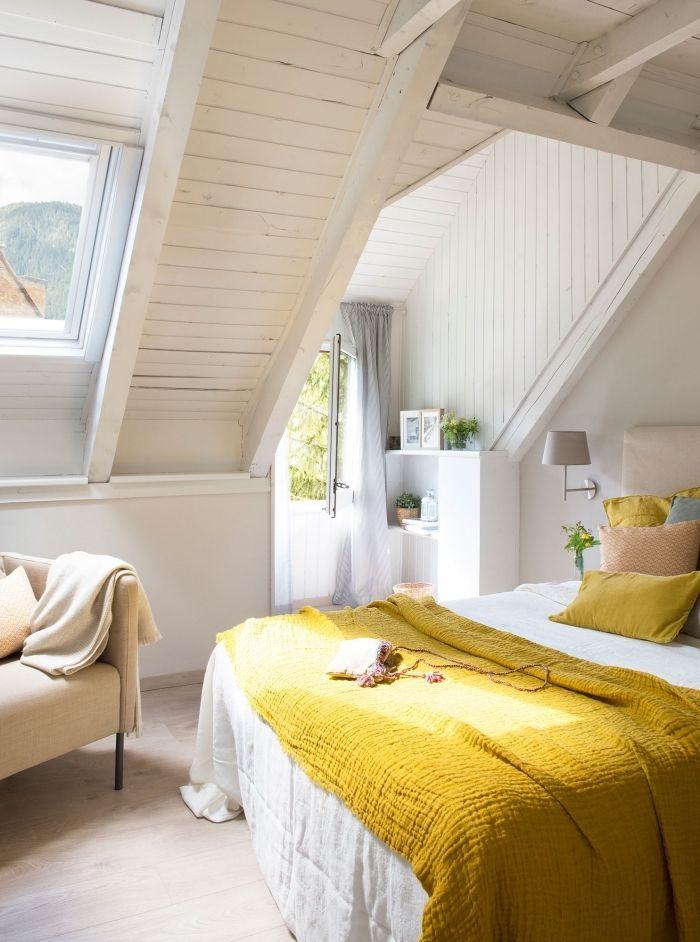 Exemple Amenagement Chambre Sous Combles Deco Cozy Avec
