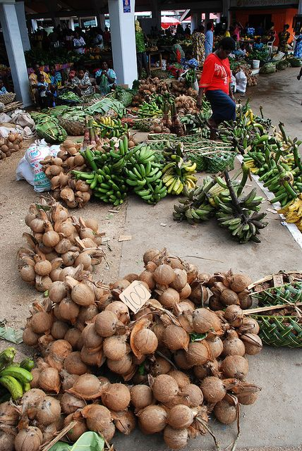 Port Vila Central Market by geoftheref, via Flickr