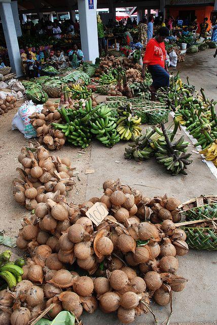 Port Vila Central Market by geoftheref, via Flickr
