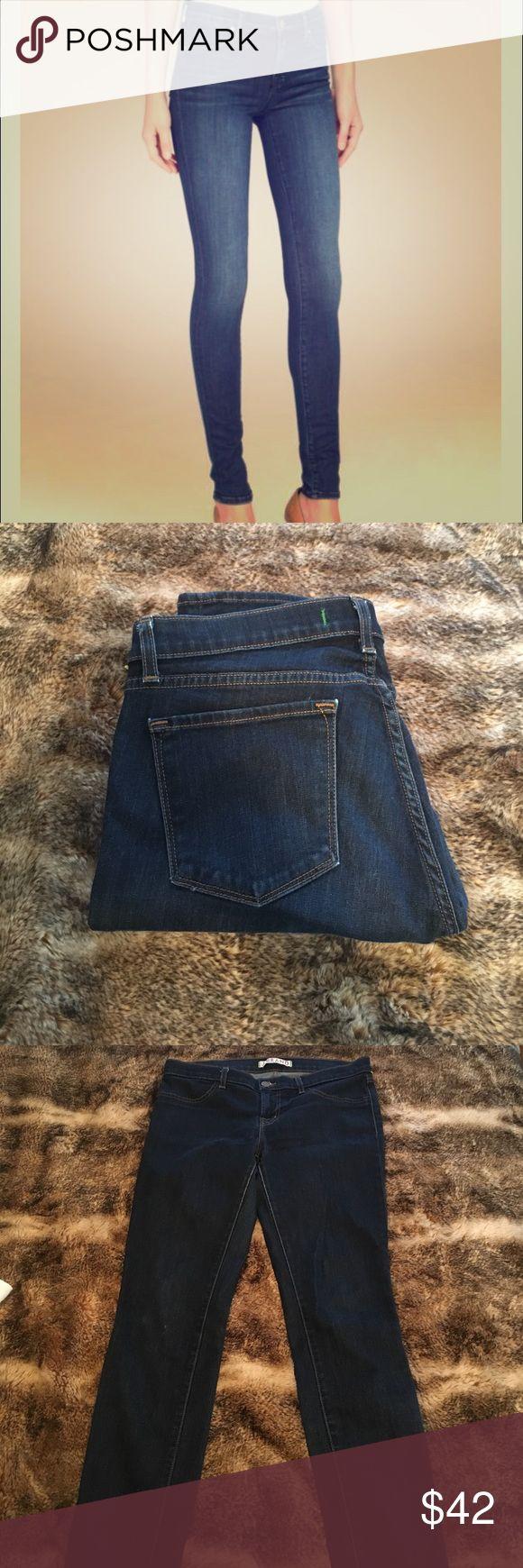 J Brand Super Skinny Starless Mid-Rise Jeans Practically new J Brand Super Skinny Starless Mid-Rise Jeans. Size 30 J Brand Jeans Skinny