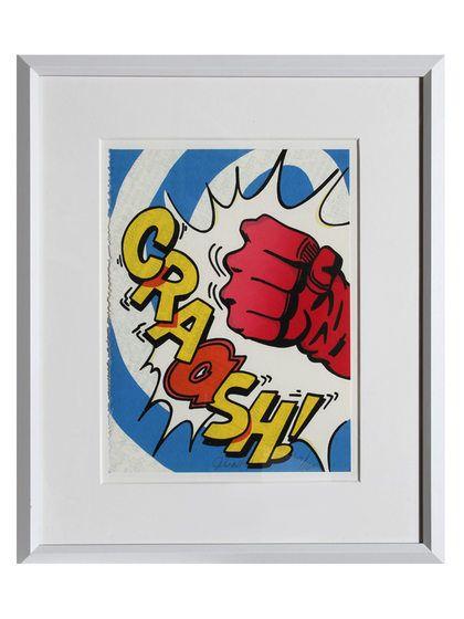Crash by John Crash Matos (Framed Silkscreen) by RoGallery at Gilt