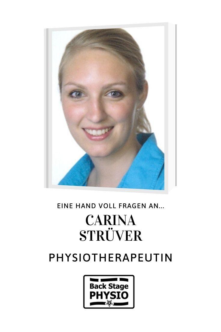 Interview Mit Physiotherapeutin Carina Struver Fortbildung Berufsbegleitendes Studium Schulleitung
