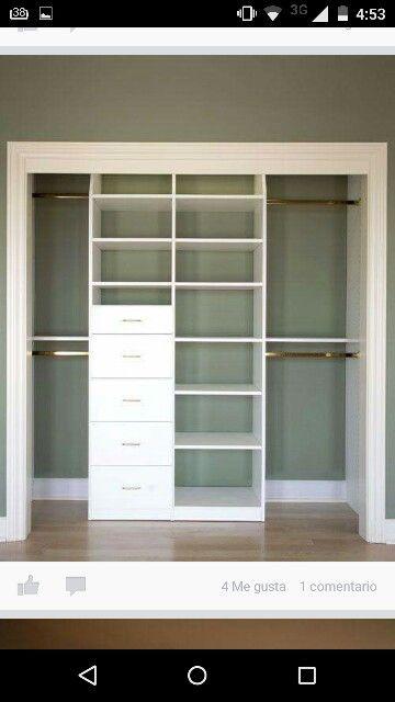 Bedroom closet cabinet Armario