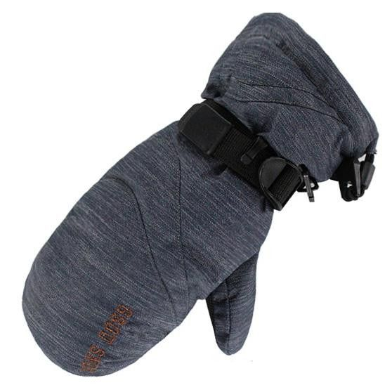 Gsou Snow Men And Women Winter Ski Snow Mitts Snowboard Gloves Guantes Ciclismo Invierno Guantes Esqui Handschoenen S M
