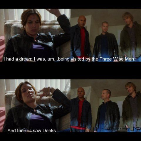 I've had a dream with these guys in it.. It was pretty good.... And then I saw Deeks