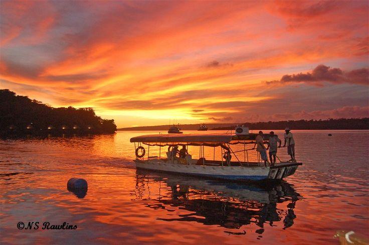 Sunset in Port Vila, Vanuatu - Port Vila, Shefa