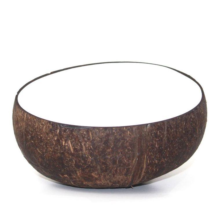 White Coconut Bowl