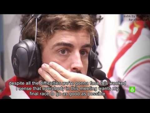 Fernando Alonso documentary: Last race with Ferrari. (Part 1/2) - YouTube