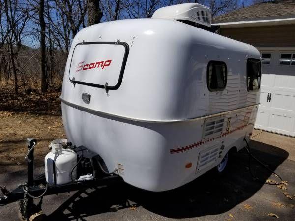 2015 13' Scamp Camper - $13700 - North metro Minnneapolis ...