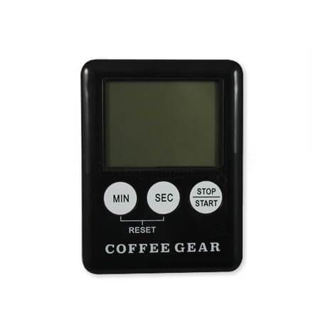 Yes, it's pocket-sized: think barista apron and convenience. And when you do slip it into your apron pocket, the flip lid provides necessary protection to the weighing platform.
