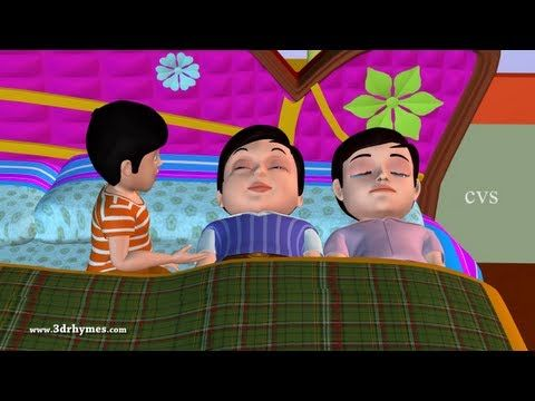 Ten in the Bed Nursery Rhyme - 3D Animation English Rhymes & Songs for Children (Ten in a Bed) - YouTube