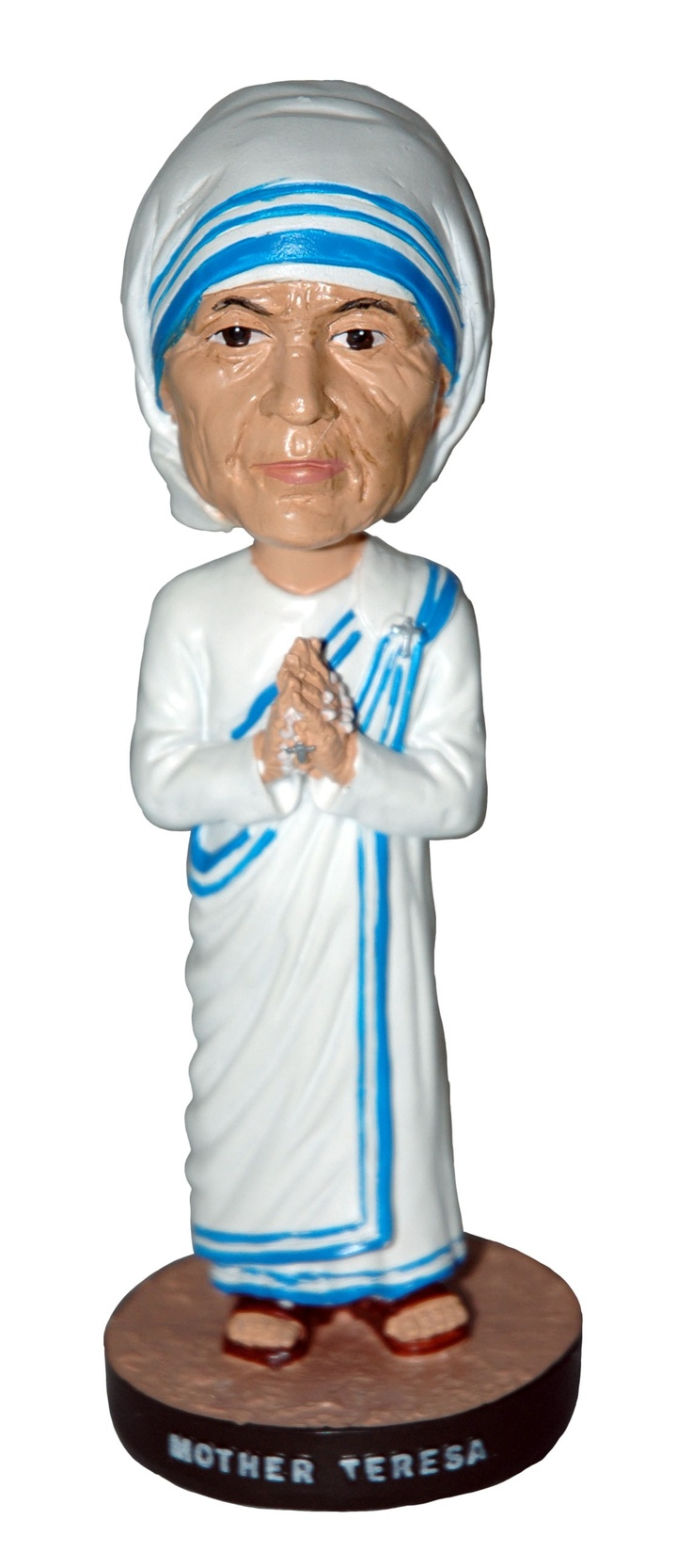 Mother Teresa Of Calcutta Bobblehead Figurine Founder Of