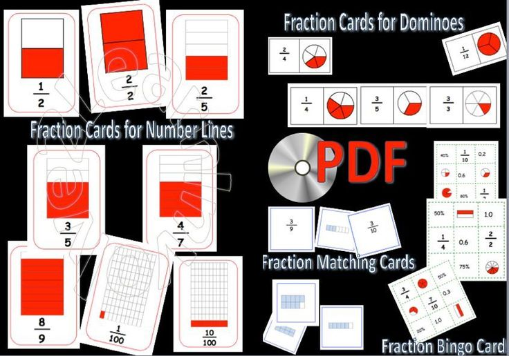THIS IS A CD CONTAINING PDF FOR ALL THE RESOURCES I HAVE DEVELOPED TO ASSIST CHILDREN TO LEARN, RECOGNISE and UNDERSTAND FRACTIONS. This is a collection of PDF to teach and learn about fractions, numerators, denominators, equivalents etc. | eBay!