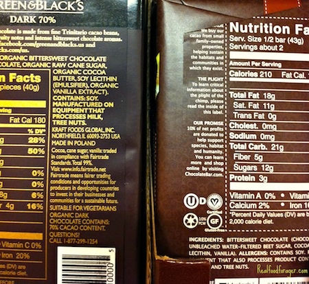 Even organic fair-trade chocolate contains soy lecithin.