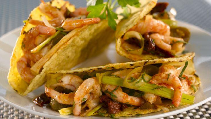 Tacos med reker - Oppskrifter - Old El Paso No
