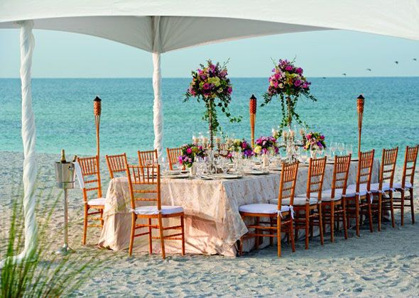 Love Meets Luxury At The Ritz Carlton Sarasota Wedding BeachWedding Decor Small Beach WeddingsDestination