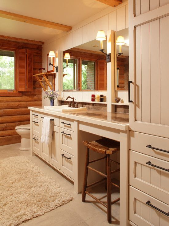 Bathroom Ideas Log Homes 179 best log cabins inside/out images on pinterest
