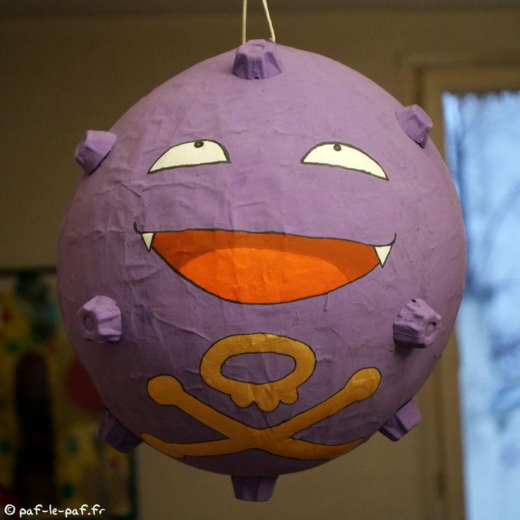 Après le gros succès de la piñata cochon Angry Birds l'an dernier (clique ici pour voir cet excellent tuto, si je ne me passe pas la brosse à reluire, qui le fera ?), le minus souhaitait vivement a…