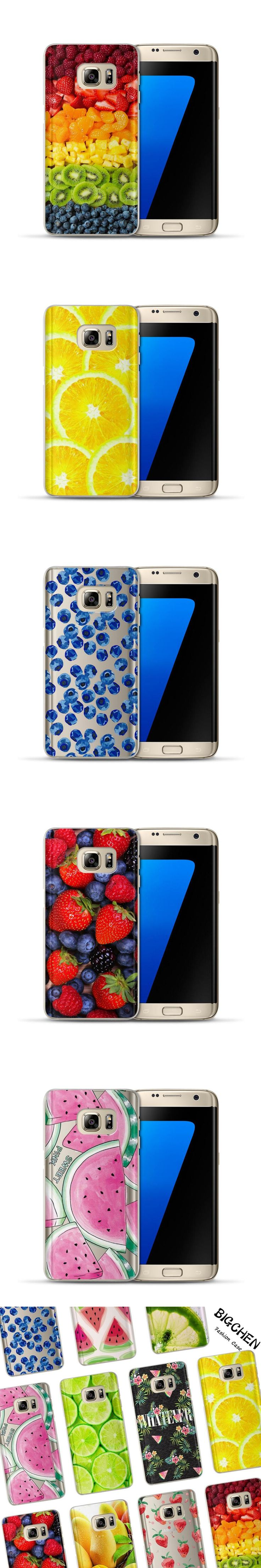 Summer Fruit Case For Coque Samsung Galaxy Grand Prime S3 S4 S5 S6 S7 Edge S8 Plus J2 J3 J5 J7 A3 A5 2017 2016 2015 Phone Cover