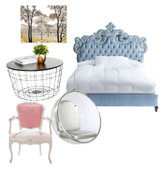 """""""My Bedroom"""" by azmina2010 on Polyvore featuring interior, interiors, interior design, home, home decor, interior decorating, Haute House, Dot & Bo, Antique and bedroom"""